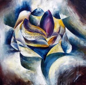 Rosengruß 60 x 60