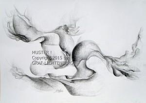 Mystische Musik 60 x 40