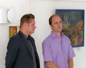 Eröffnungsrede im Haus Bachem Königswinter / August 2015 mit Oliver Schickura