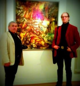 Mit Junus Karimow im Röntgenmuseum Neuwied / Dezember 2013