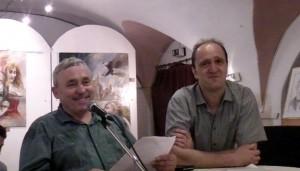 """Vernissage im Kunstverein """"Die Treidler"""" / August 2015 mit Junus Karimow"""