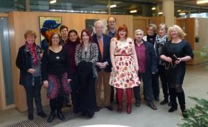 Künstlergruppe Karimow im Rathaus Hennef / 12.12.2015