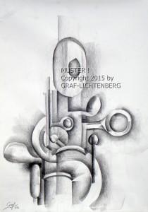 Flötenmelodie 4 40 x 60