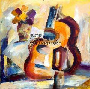 Pablos Gitarre 50 x 50