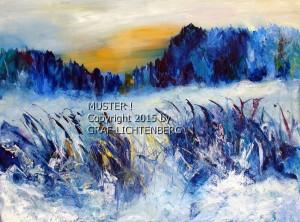 Winter am Laagshof 80 x 60