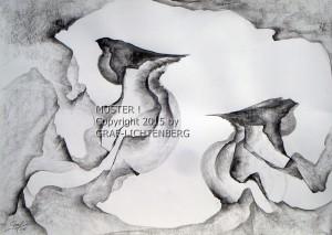 Zwei Finken 60 x 40