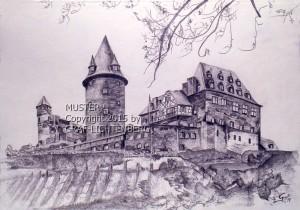 0071A Burg Stahleck 30 x 20