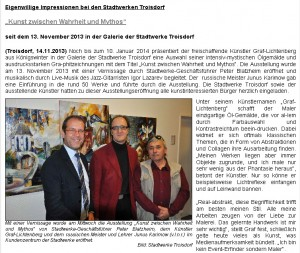 Graf-Lichtenberg / Treffpunkt Trosidorf Bericht