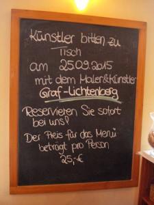 Im Kunstzentrum Artgenossen / Lindlar September 2015